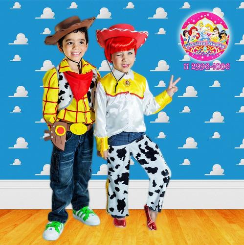 fantasia de jessie para festa do toy story