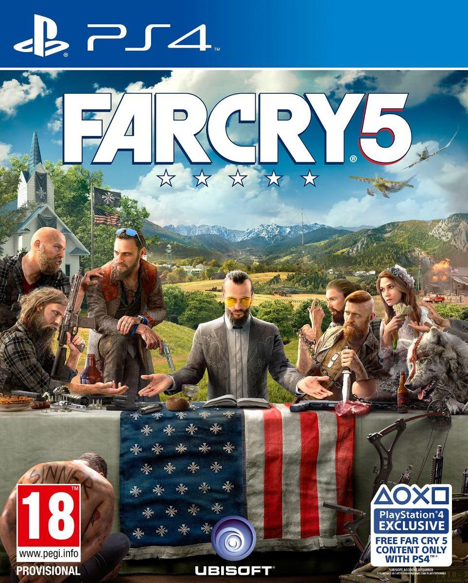 Farcry 5 Juego Digital Original Ps4 Estreno 2018 Oferta 1 760