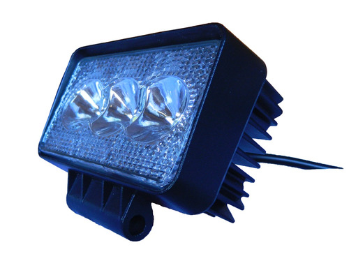 faro caminero rectangular 3 led