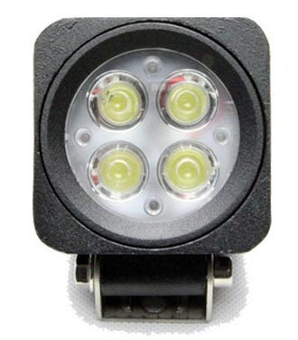 faro led   cuadrado 6.5cm 4 led multi voltaje