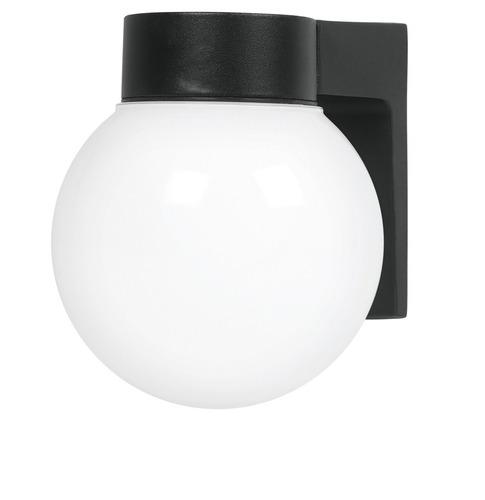 farol foco exterior aluminio tipo globo voltech