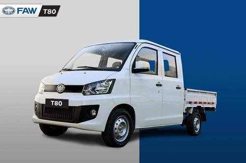 faw t80 doble cabina 1.5 full entrega inmediata