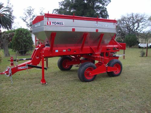 fertilizadoras yomel . modelos desde 3000 lts, hasta 25000 l