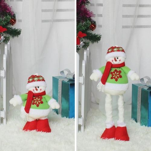 Festival Navidad Muñeco Nieve Decoracion Extensible