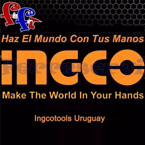 ff kit pinza llave ingco universal tuerca tornillo hbws11080