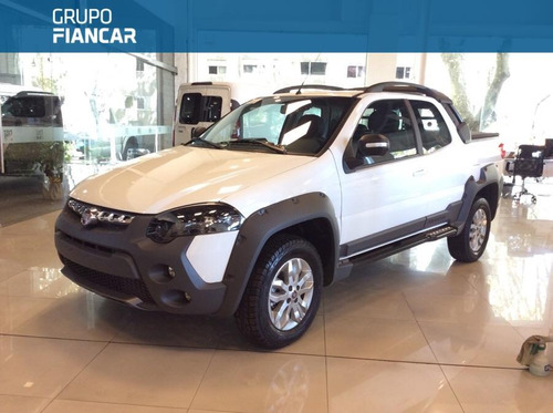 fiat strada adventure doble cabina con locker 2018 0km