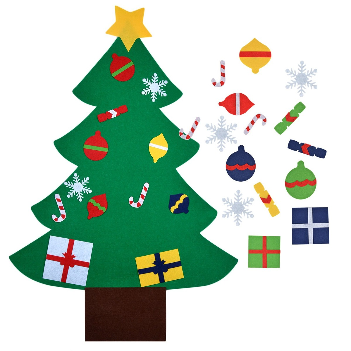 6146372ade7 Fieltro Árbol De Navidad