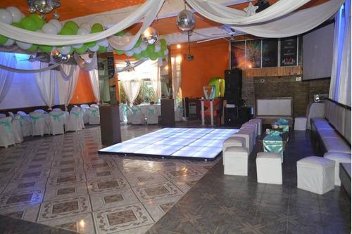 fiestas servicio salón