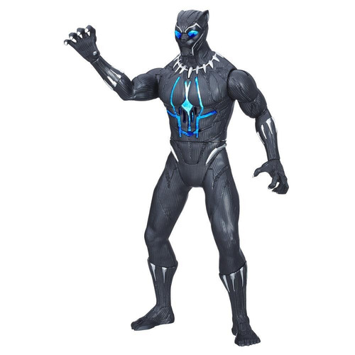 figura acción electrónica pantera negra 30 cm hasbro e0870
