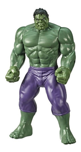 figura de acción hulk 25 cm marvel avengers  original hasbro