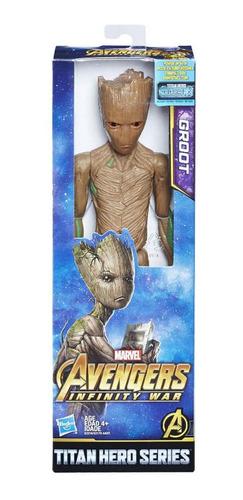 figura de accion marvel avengers hasbro groot 12