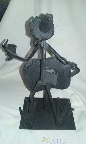 figura en hierro-  decoracion artesania escultura