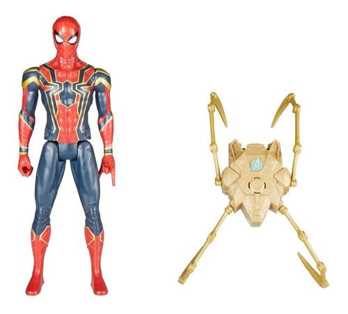 figura spiderman 30 cm titan hero power fx avengers