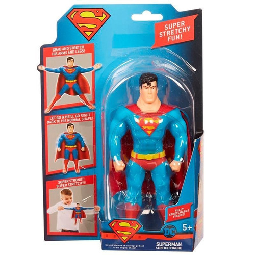 figura strech. flash, batman, superman, (giro didáctico)