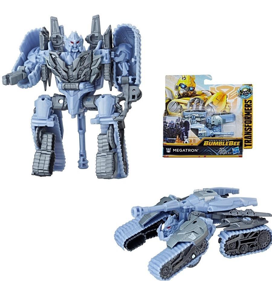 Figura Transformers 9 Pasos Hasbro Bumblebee Megatron Ub-ub