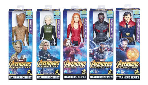 figuras marvel muñecos avengers titan hero movie 30 cm hts