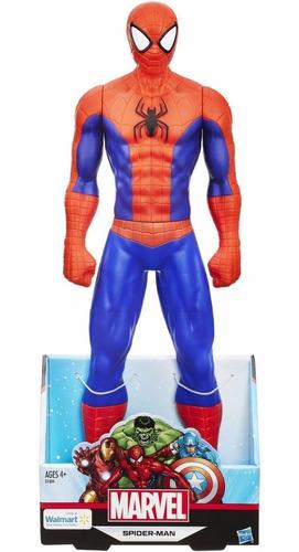 figuras xl titan hero spiderman avengers 50 cm hasbro
