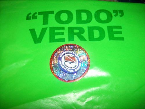 figurita 2001 escudo argentinos jrs.  - no envio