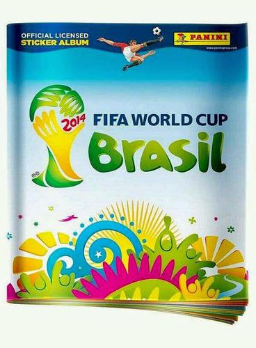 figuritas sueltas panini fifa mundial brasil 2014 a $ 7