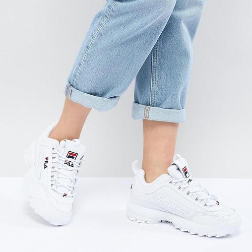 fila disruptor calzado dama urbano champión moda mvdsport