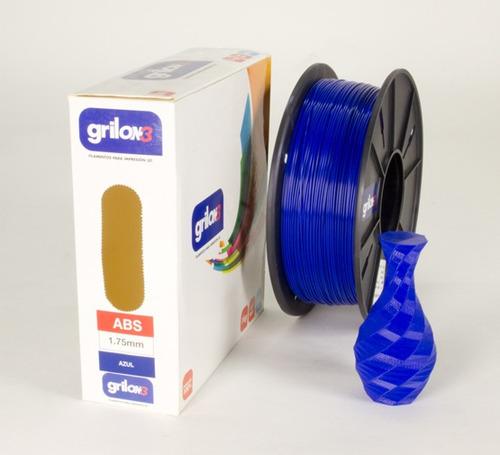 filamento abs impresion 3d 1.75 grilon3 villa urquiza envio