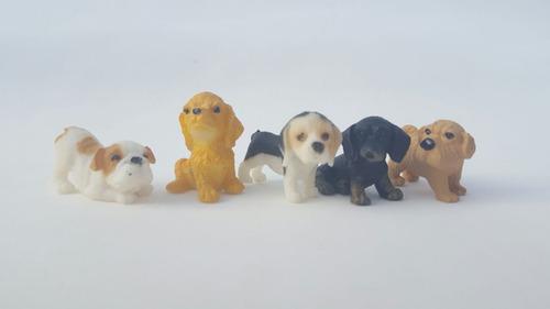 filhotes de cachorros ferrero pet - 40 miniaturas brinquedo
