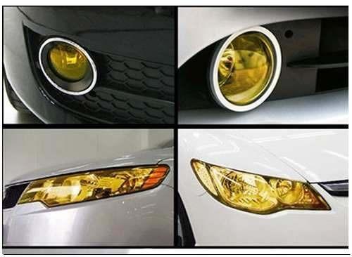 film adhesivo para faroles auto motos tamaño 40cmx1m