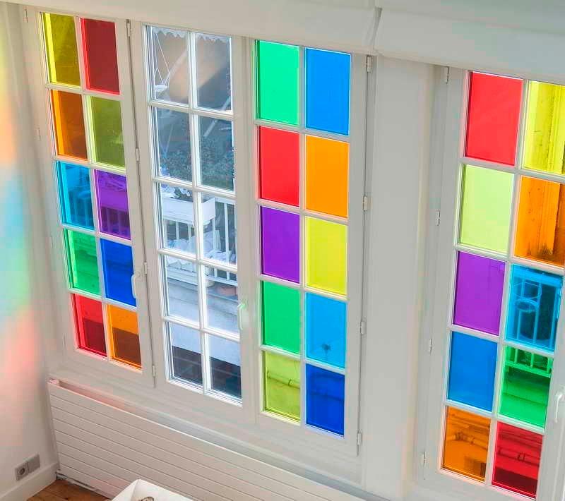Film vinilo cristal p decorar ventanas vidrios - Vinilo para decorar ...