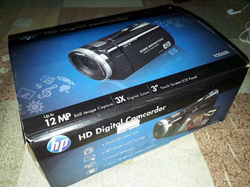 filmadora hp como nueva practicamente sin uso