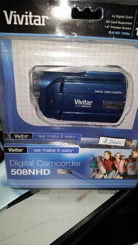 filmadora vivitar 508nhd