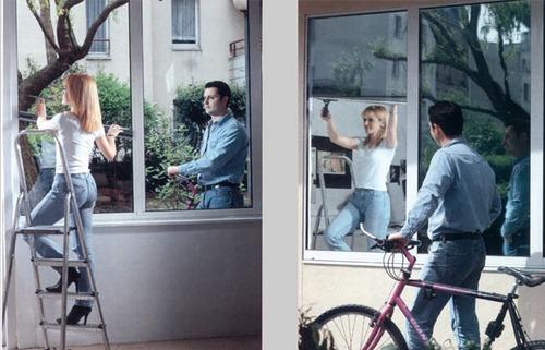films películas espejado vidrios solar seguridad  290$/mt.