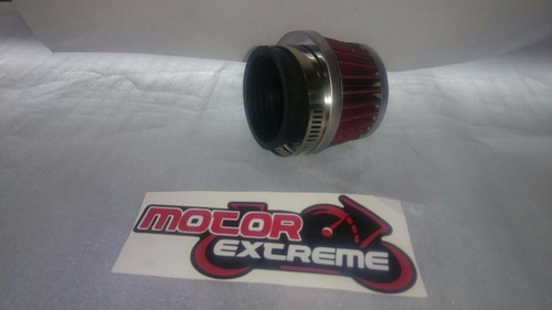 filtro de alto flujo para motos !! 42 mm