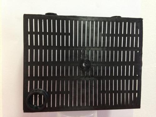 filtro de placa para acuario