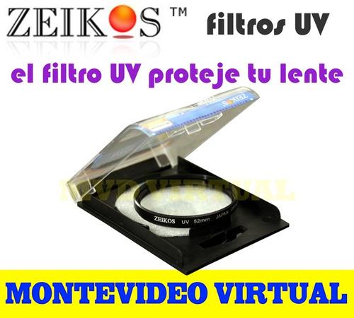 filtro uv zeikos multicapa para fotografía