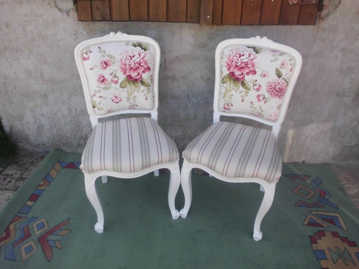 Finas silla antigua de estilo antigua tapizado a eleccion en mercado libre - Sillas antiguas restauradas ...