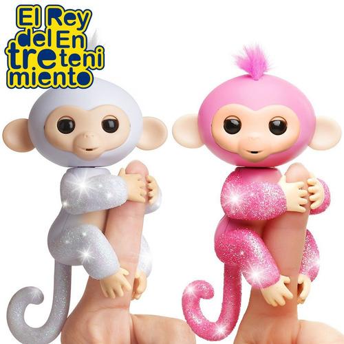 fingerlings monkeys original monito únicos brillante! el rey