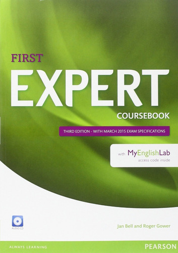 first expert - third edition - coursebook with myenglishlab