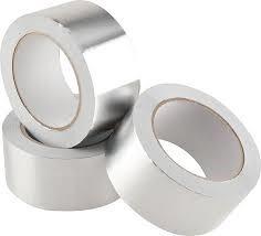 fita adesiva de aluminio puro - 50 x 30 - ref. importada h.m