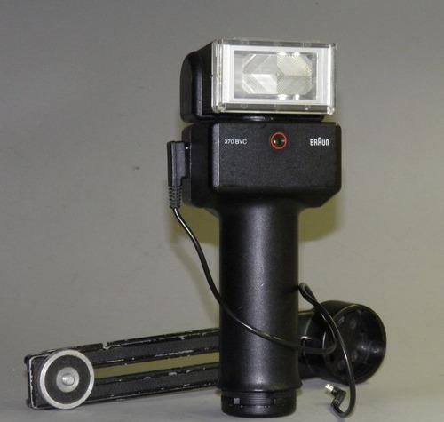 flash braun 370 bvc alemán con vario-power automático