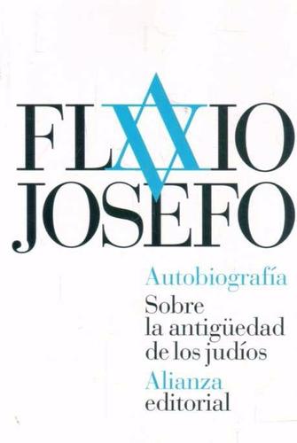 flavio  josefo.  autobiografía     antigüedad  de  judíos.