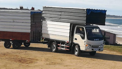 fletes mudanzas camion camionetas subidas y bajadas en gral