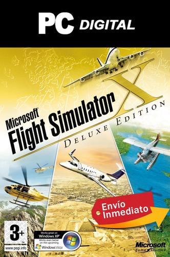 flight simulator x gold edition pc español digital completo