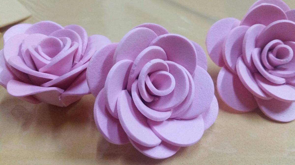 Flores De Goma Eva Artificiales Para Decoraciones