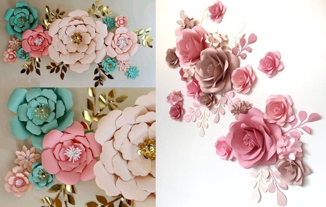 Flores De Papel Adornos Para Fiestas Decoracion 30 00 En