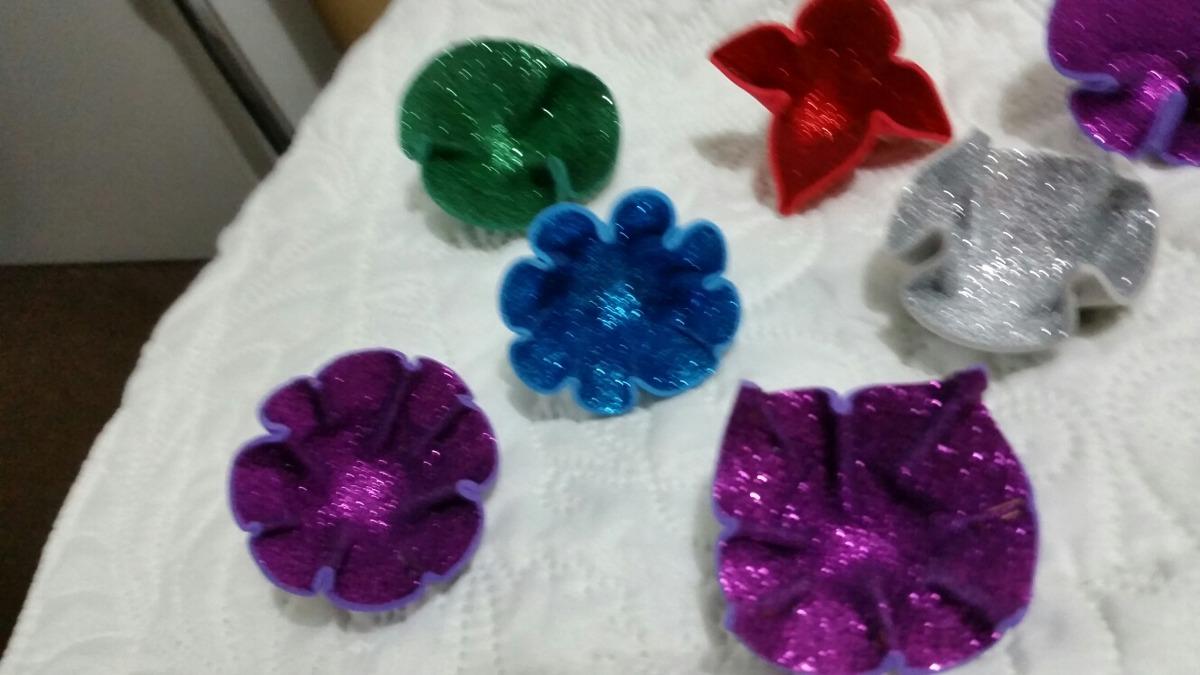 707aa28138b flores goma eva con brillantina. modelos nuevos. Cargando zoom.