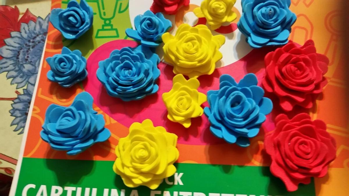 cb31da628a2 Flores Goma Eva