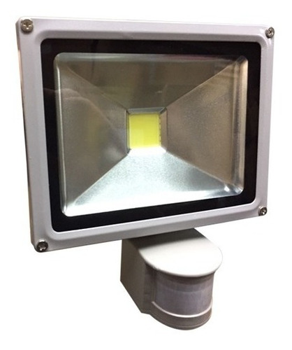 foco led exterior 20w con sensor de movimiento garantía