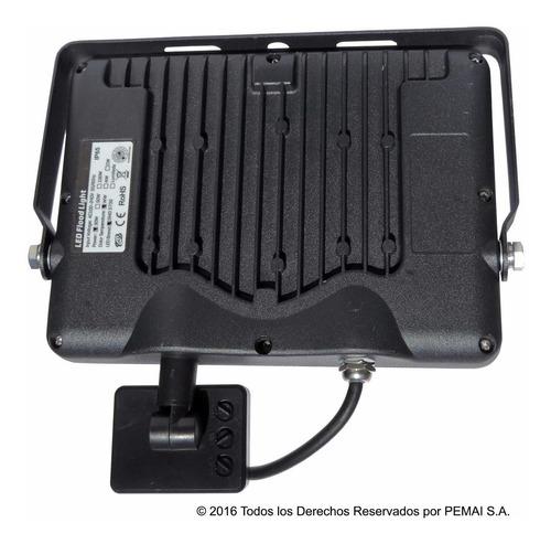 foco led exterior 30watt con sensor nueva generación