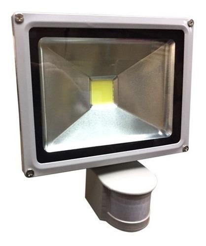 foco led exterior 50w con sensor de movimiento garantía