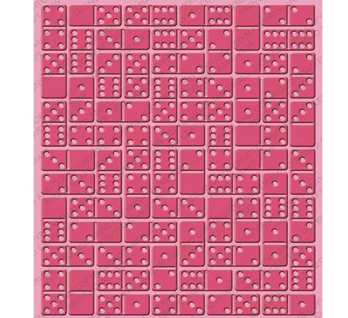 folder grabado domino fichas repujar papel realzar scrapbook